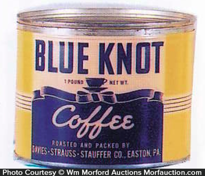 Blue Knot Coffee Can