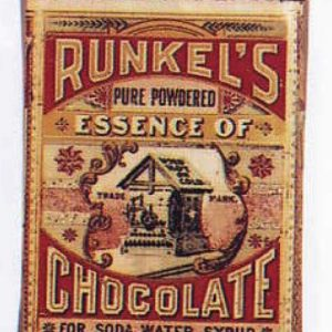 Runkel's Essence Of Chocolate Tin