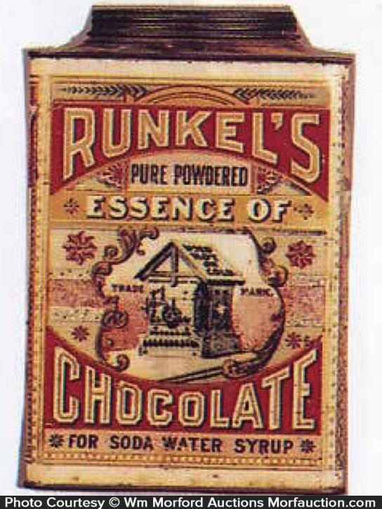 Runkel's Essence Of Chocolate Tin