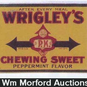 Vintage Wrigley's Signs