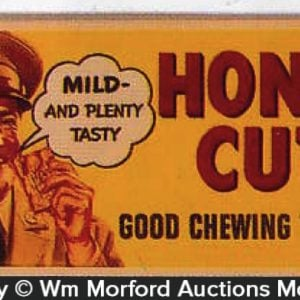 Honey Cut Tobacco Sign