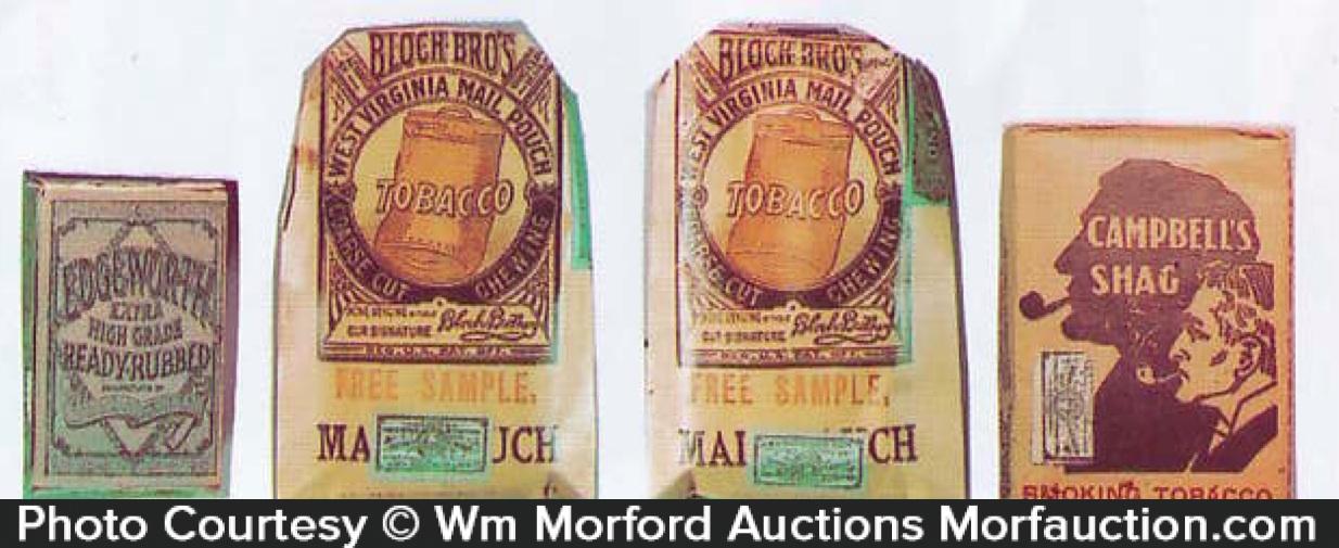 Vintage Tobacco Sample Packs