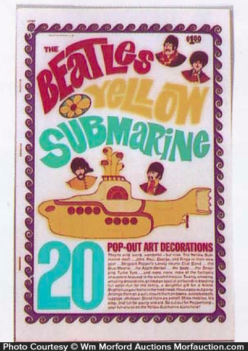 Beatles Art Decorations