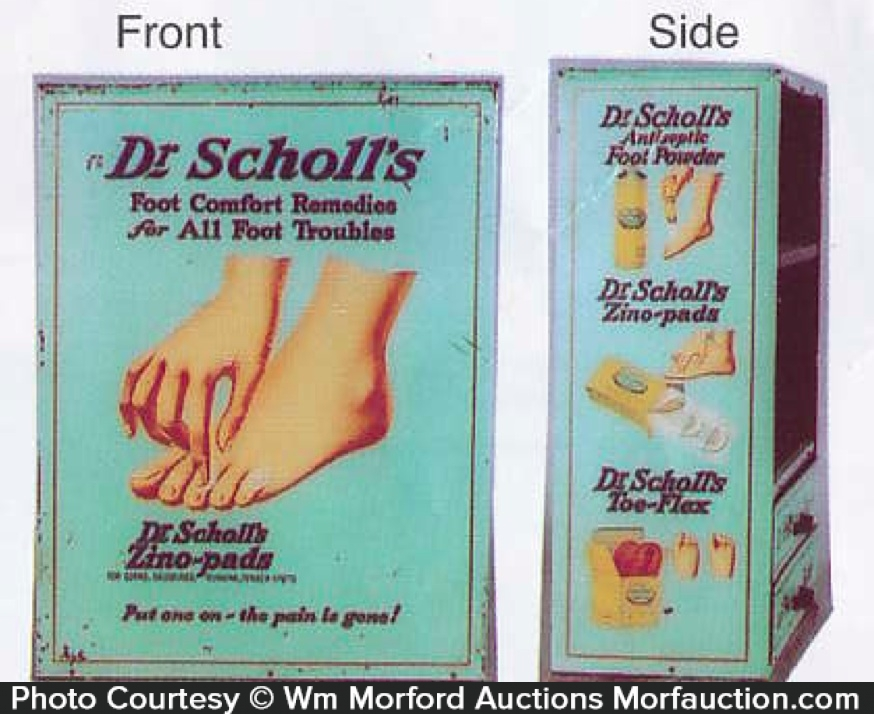 Dr. Scholl's Display