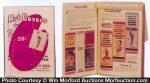 Match Book Salesman Sample Catalog