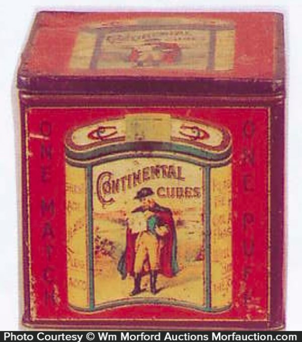 Continental Cubes Tobacco Bin