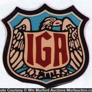 Iga Grocery Sign