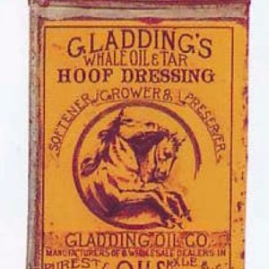 Gladding's Hoof Dressing Oil Can