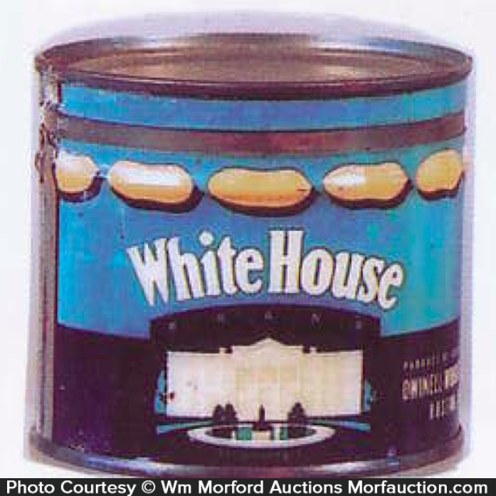 White House Peanut Tin