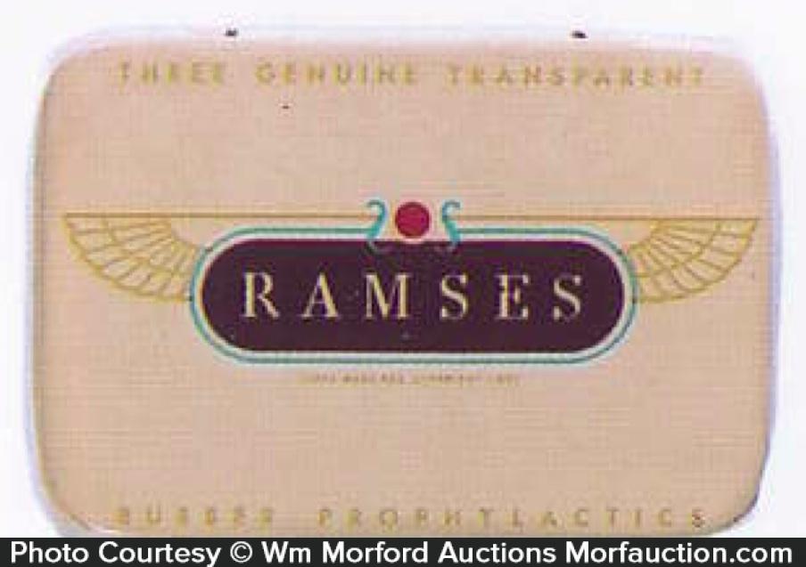 Ramses Condom Tin
