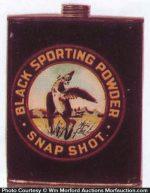 Snap Shot Sporting Powder Tin