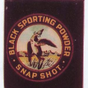 Snap Shot Sporting Powder Tin