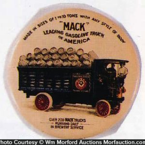 Mack Trucks Pabst Beer Mirror