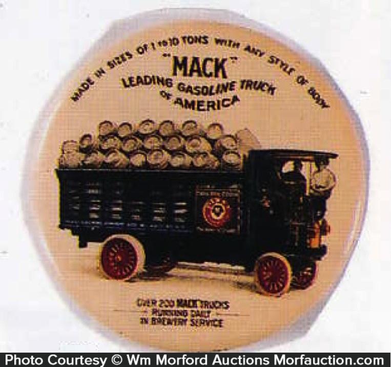 Mack Trucks Pabst Beer Mirror