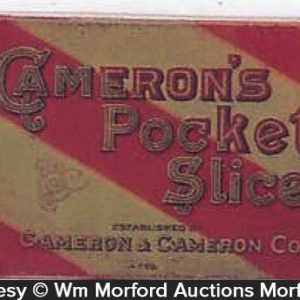 Cameron's Pocket Slice Tobacco Tin
