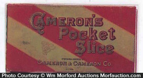Cameron's Pocket Slice Tobacco Tin