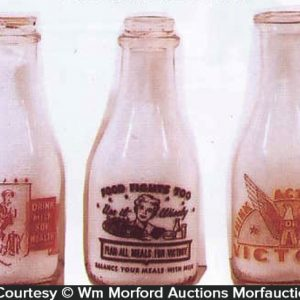 Patriotic Milk Bottles