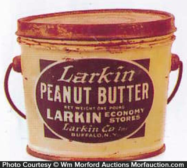 Larkin Peanut Butter Pail
