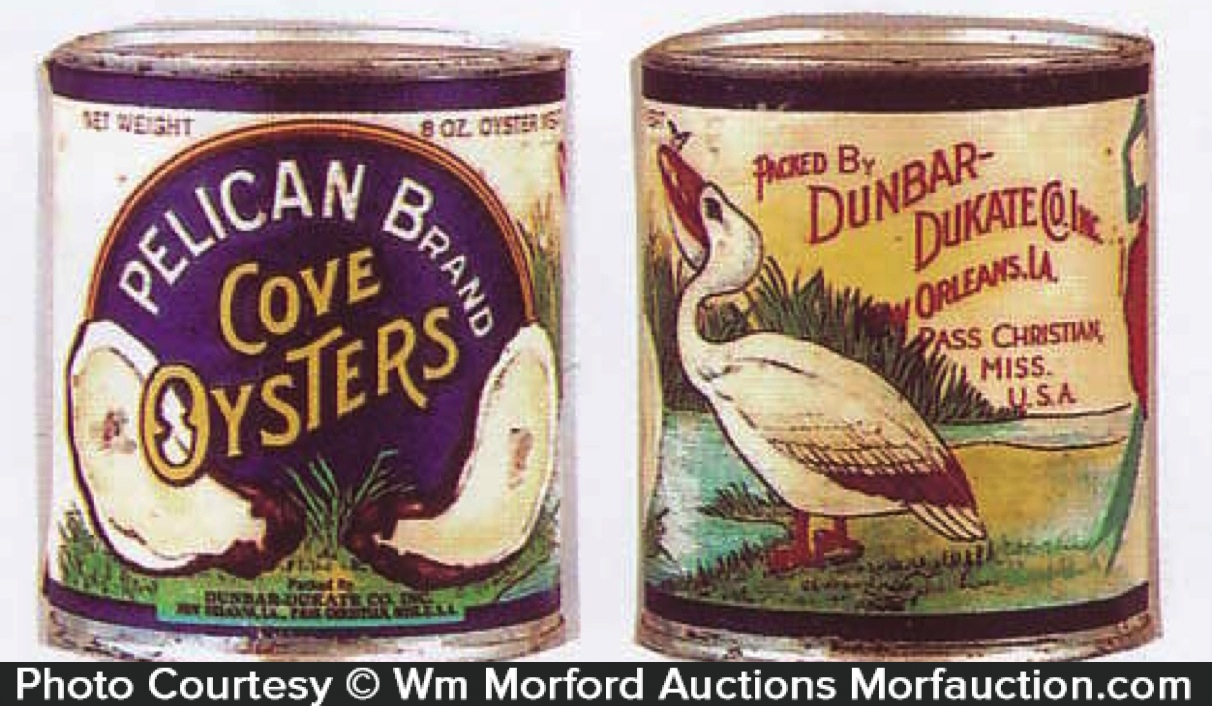 Pelican Oysters Tin