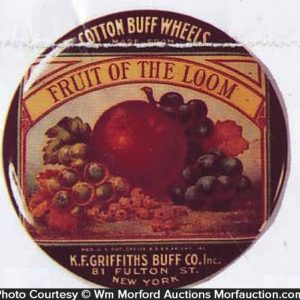 Fruit Of The Loom Paperweight Mirror