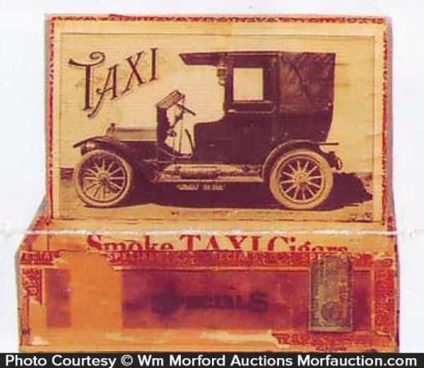 Taxi Cigar Box