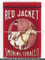 Red Jacket Tobacco Tin