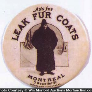 Leak Fur Coats Pocket Mirror