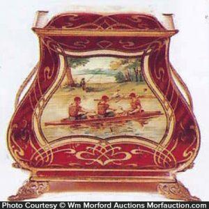 Victorian Sporting Tin