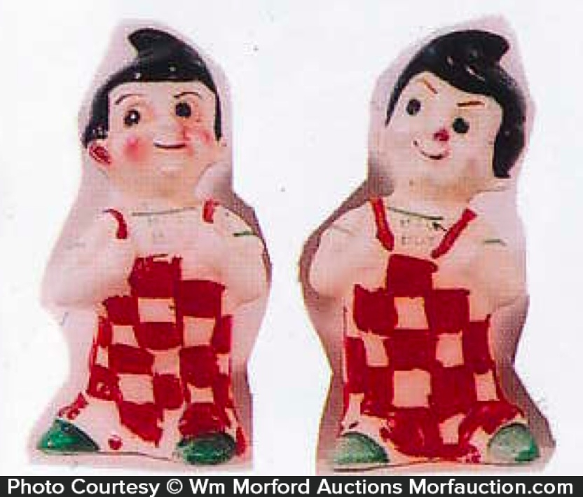 Big Boy Salt and Pepper Shakers