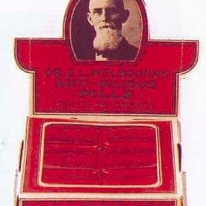 Dr. Welbourn's Anti-Bilious Pills Display