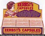 Zerbst's Capsules Display