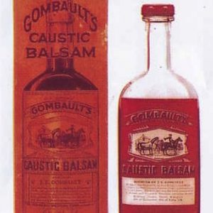 Gombault's Caustic Balsam Bottle