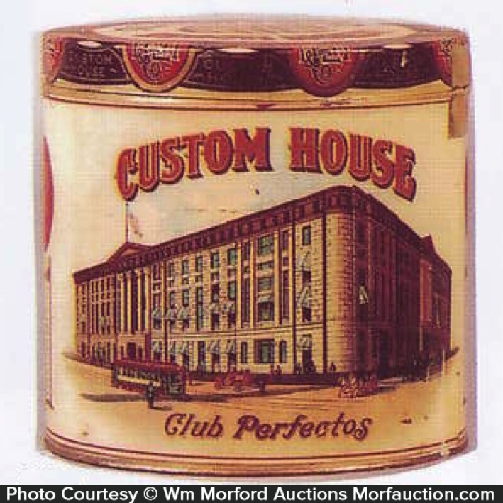 Custom House Cigar Tin