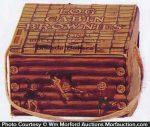 Log Cabin Brownies Box