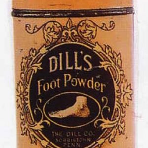 Dill's Foot Powder Tin