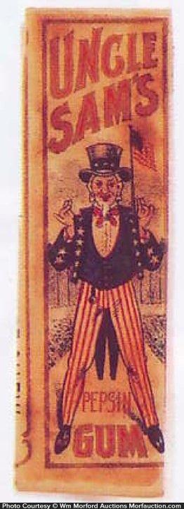 Uncle Sam's Gum Wrapper