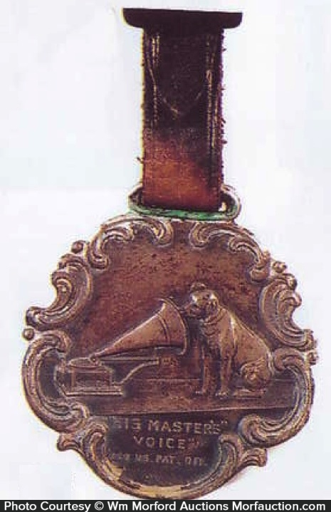 Rca His Masters Voice Watch Fob