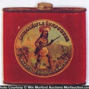 Indian Rifle Gunpowder Tin