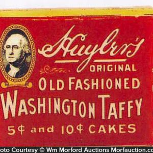Washington Taffy Tin