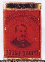 Moses Cough Drops Tin
