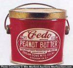 Credo Peanut Butter Pail