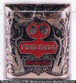 Twin Oaks Tobacco Pocket Tin