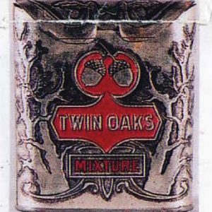 Twin Oaks Tobacco Pocket Tin