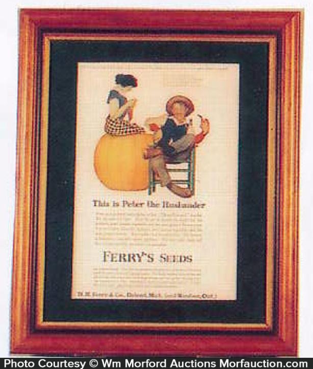 Ferry Seed Peter Pumpkin Eater Ad