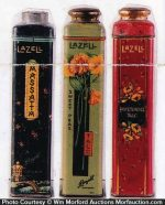 Lazell Talcum Powder Tins