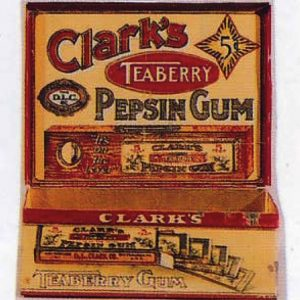 Clark's Teaberry Gum Tin