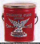 Woman's Club Peanut Butter Pail