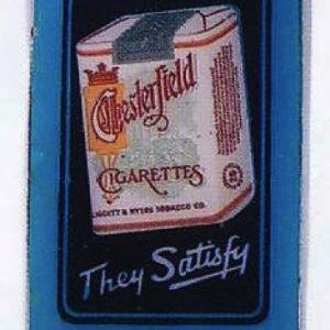 Chesterfield Cigarettes Door Push