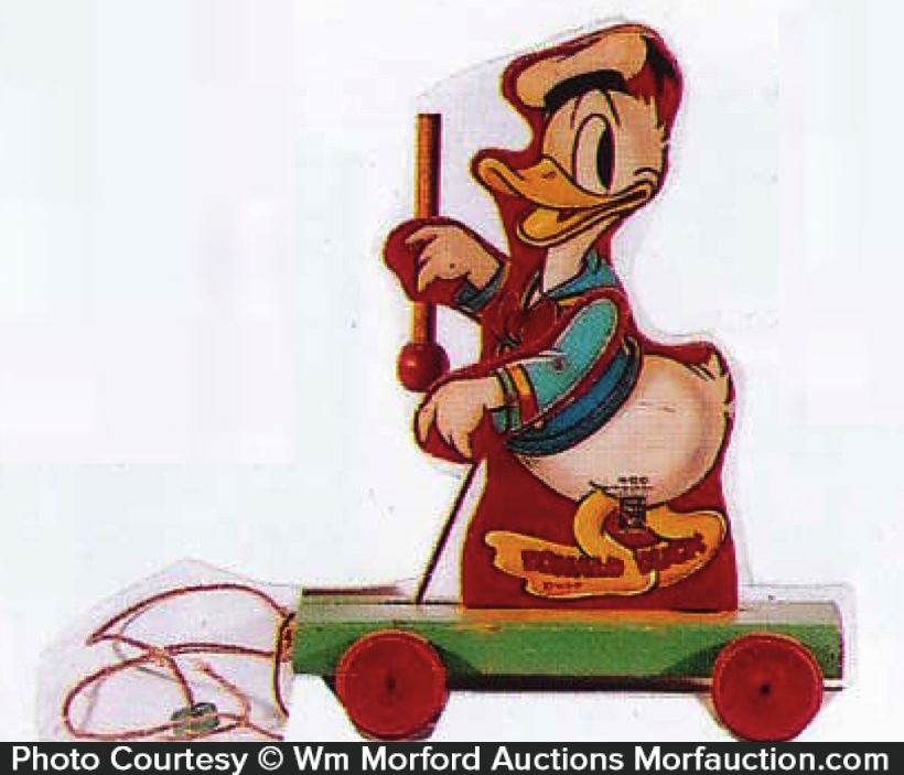 Fisher Price Donald Duck Toy