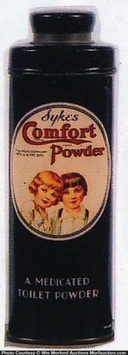 Syke's Comfort Talc Tin